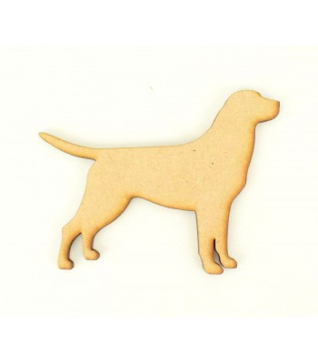 Laser Cut Labrador Dog Shape