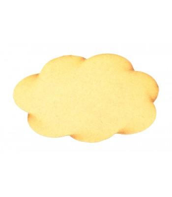 Laser Cut Cloud Shapes