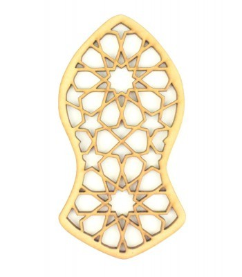 Laser Cut 'Nalain Shareef' Shape