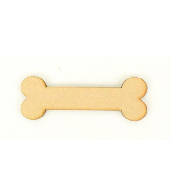Laser Cut Plain Dog Bone Shape