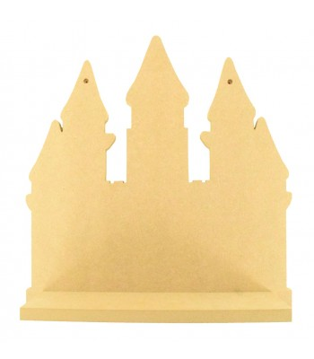 Routered 18mm MDF Quality Flat packed Princess Castle Shelf