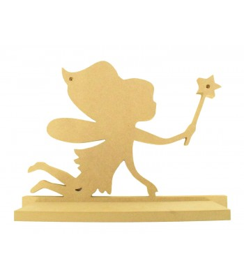 Routered 18mm MDF Quality Flat packed Fairy Shelf