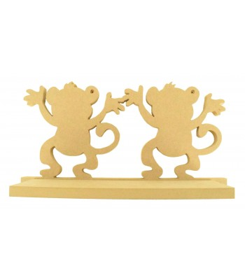 Routered 18mm MDF Quality Flat packed Cheeky Monkeys Shelf
