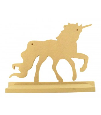 Routered 18mm MDF Quality Flat packed Unicorn Shelf
