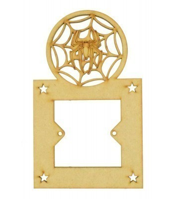 Laser Cut Superhero Spider Web Light Switch Surround