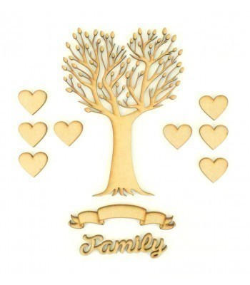 Laser Cut Bargain Box Frame Tree Kit - Set 5