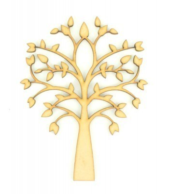 Laser Cut Symmetrical Tree
