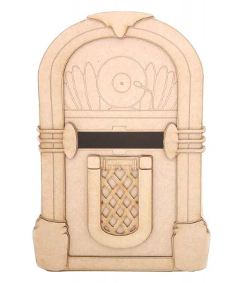 Laser Cut 3D Special Occassion Novelty Juke Box Post Box