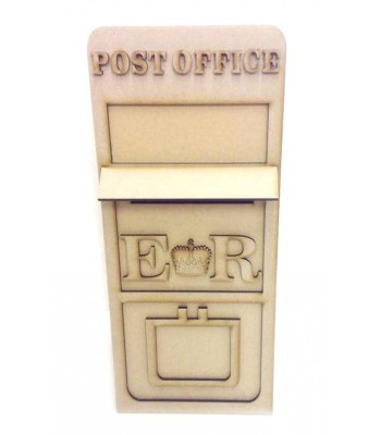 Freestanding 3D Special Occassion Post Office Box