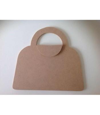 6mm 3D Handbag (Design 1) Blank Shape