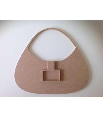 6mm 3D Handbag with buckle (Design 2) Blank Shape
