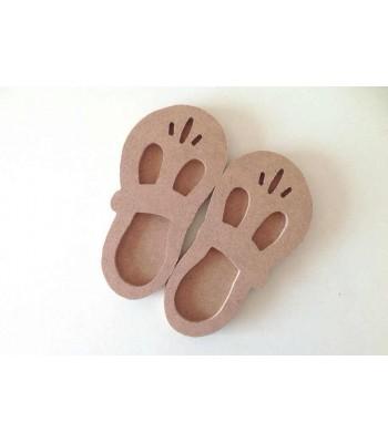 6mm Cute 3D Baby Shoes (Design 1)