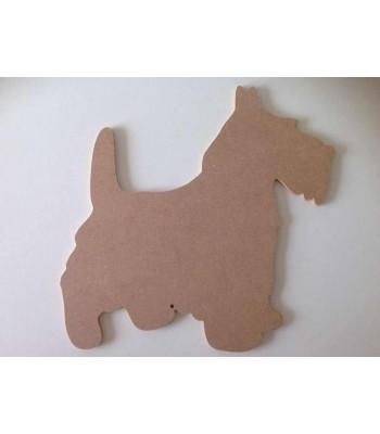 6mm Scottie Dog Blank Shape