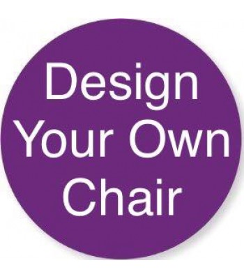 Routered 18mm MDF Quality Flat packed 'Design Your Own' Novelty Chair