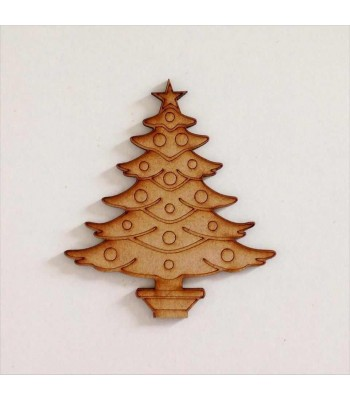 Laser cut Detailed Christmas Tree