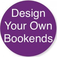 Routered 18mm MDF Quality Flat packed 'Design Your Own' Bookends