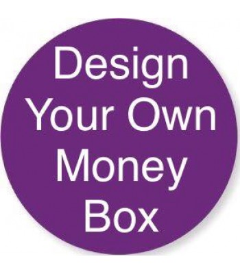 Laser cut 'Design your own' Money Box