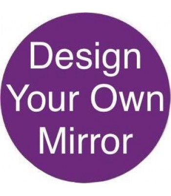 Design Your Own 18mm MDF Mirror Shape - Size Options