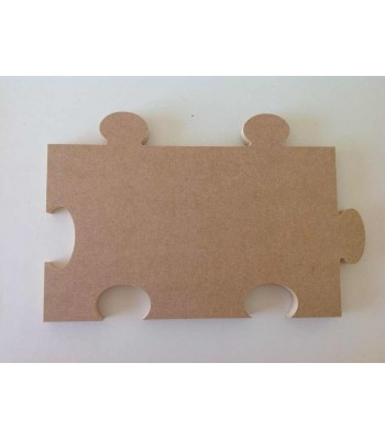18mm Freestanding MDF Blank Large Puzzle Piece