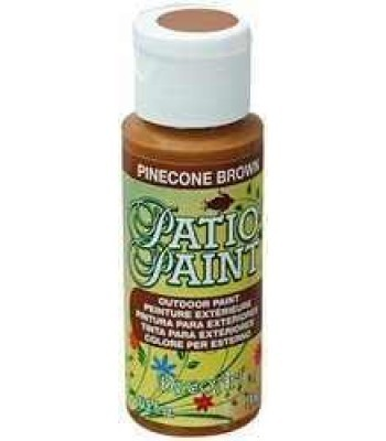 DecoArt Patio Paint - Pinecone Brown 2oz