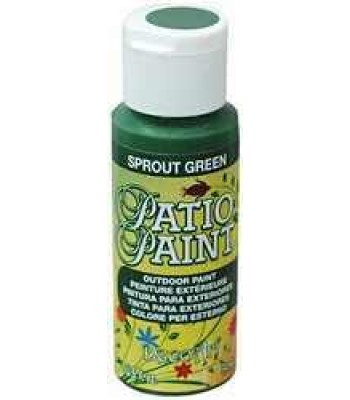 DecoArt Patio Paint - Sprout Green 2oz