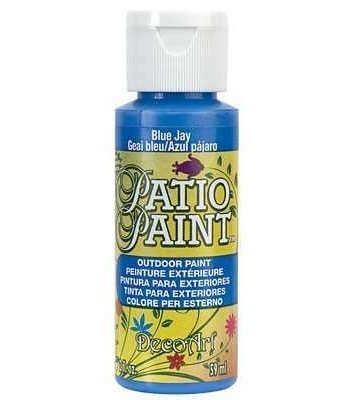 DecoArt Patio Paint - Blue Jay 2oz