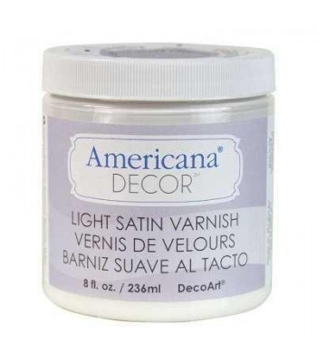 Light Satin Varnish Finish Paint Chalk Paint (Chalky Finish) 8oz craft paints