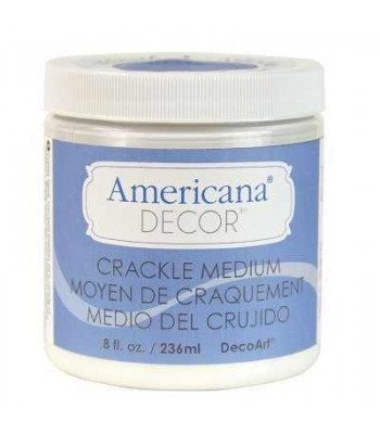 Crackle Medium Paint Chalk Paint (Chalky Finish) 8oz