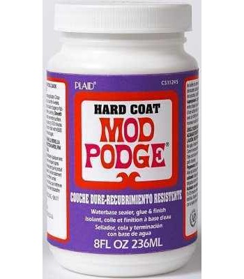 Mod Podge Hard coat 8 Oz.