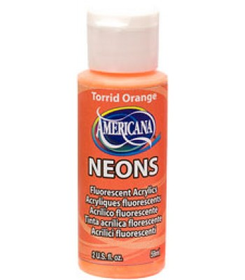 Torrid Orange Amer Neon 2oz craft paint