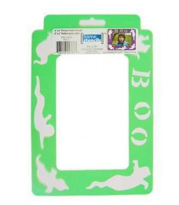 Boo - Decoart Frame Stencils. Halloween theme Stencil