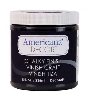 Carbon Chalky Finish Paint Chalk Paint (Chalky Finish) 8oz craft paints