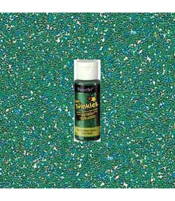 Christmas Green Craft Twinkles 2oz Craft paint