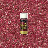 Christmas Red Craft Twinkles 2oz Craft Paint