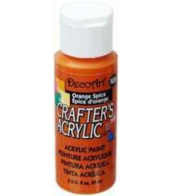 DecoArt Orange Spice Crafters Acrylic 2oz