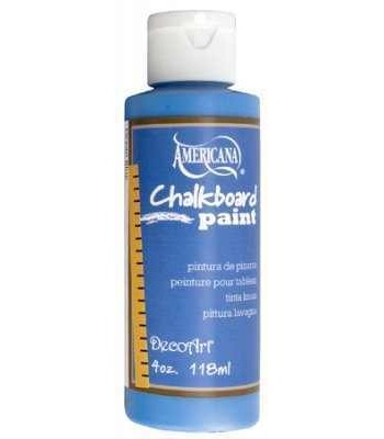 DecoArt Products Blue chalk board Paint 4oz
