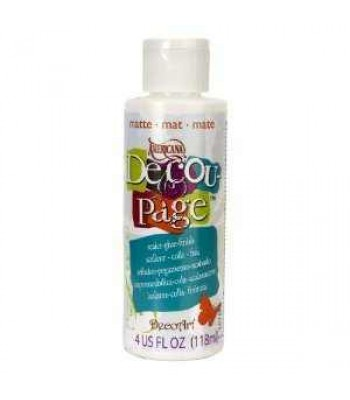 Decoupage Sealer/Glue/Matte 4oz