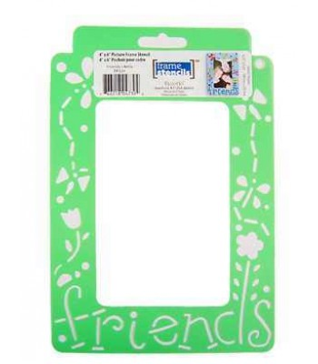 Friends - Decoart Frame Stencils