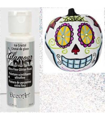 Ice Crystal Glamour Dust Ultra Fine Glitter Paint 2oz.