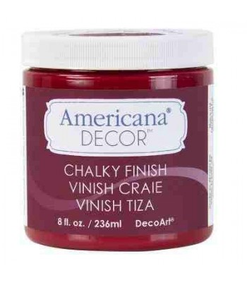 Red Romance Americana Chalky Finish.
