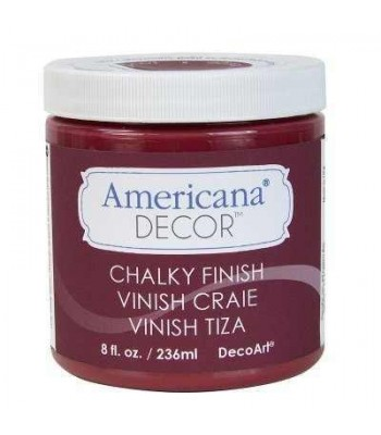Rouge Chalky Finish Paint  Chalk Paint (Chalky Finish) 8oz craft paint