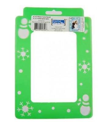 Snowmen - Decoart Frame Stencils. Christmas theme Stencil