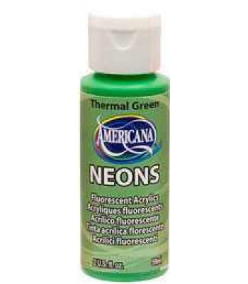 Thermal Green Amer Neon 2oz craft paints