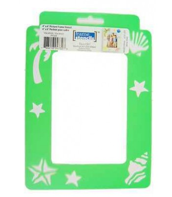 Vacation - Decoart Frame Stencils