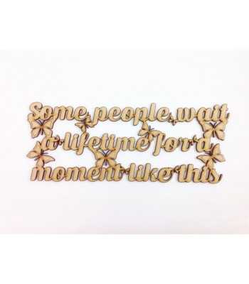 Laser Cut 'Some people wait a lifetime for a moment like this' Song Lyrics By Leona Lewis
