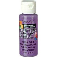 Acrylic (Crafters Acrylic) Bright Purple Crafters Acylic