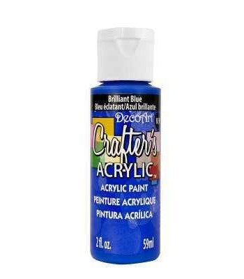 Acrylic (Crafters Acrylic) Brilliant Blue Crafters Acylic