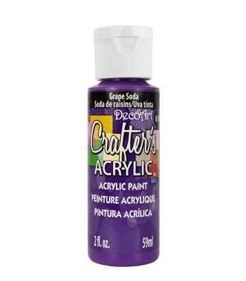 Acrylic (Crafters Acrylic) Grape Soda Crafters Acylic