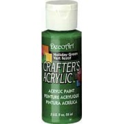 Acrylic (Crafters Acrylic) Holiday Green Crafters Acylic
