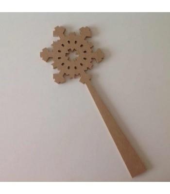 Christmas snowflake wand